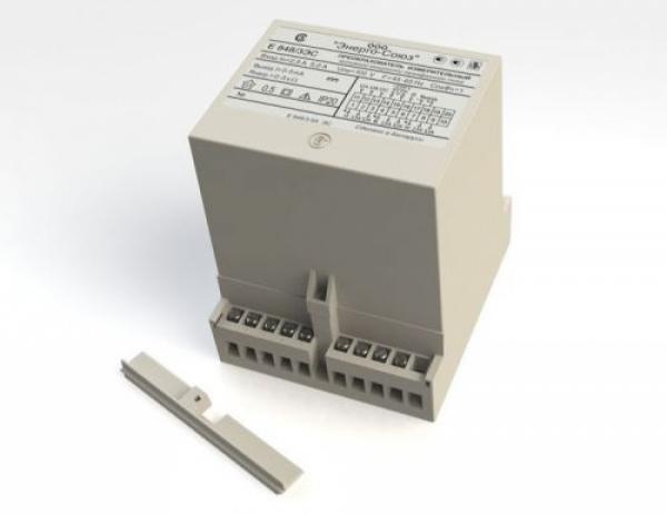 Измерительный преобразователь активной мощности трёхфазного тока Е-848