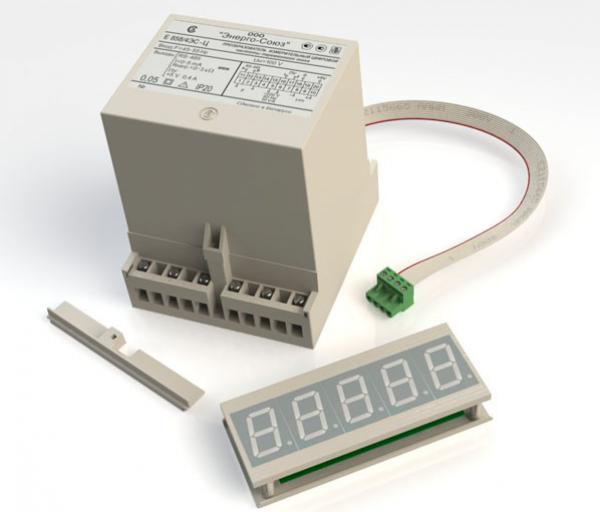 Цифровой измерительный преобразователь частоты переменного тока Е-858Ц