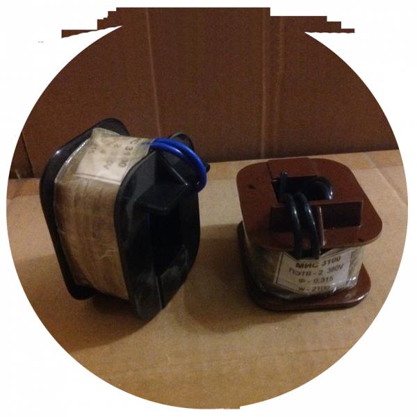 Катушка к электромагнитам МИС