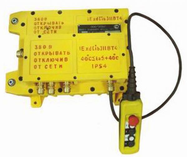 Устройство управления взрывозащищенное типа ПВМТ-5
