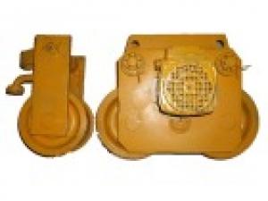 Комплект тележек (приводная + холостая) — старого типа