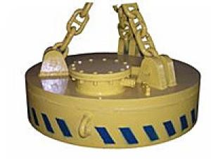 Грузоподъемный электромагнит серии ЭМ-43П, ЭМ-63П для подводных работ