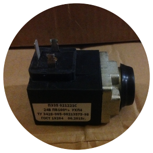 Привод электромагнитный ПЭ35-021221С УХЛ4; ПЭ35-023031С УХЛ4; ПЭ35-023051С УХЛ4