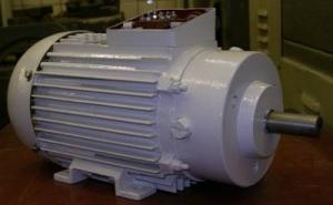 Электродвигатель асинхронный с короткозамкнутым ротором